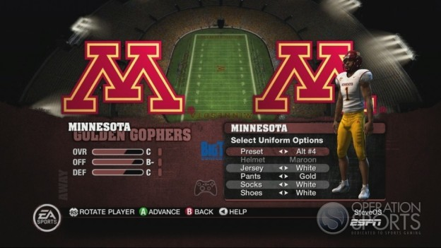 NCAA Football 10 Screenshot #299 for Xbox 360