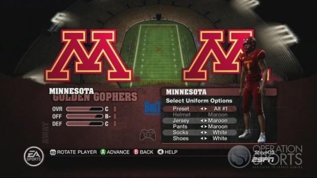 NCAA Football 10 Screenshot #302 for Xbox 360