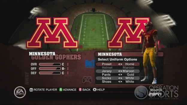 NCAA Football 10 Screenshot #304 for Xbox 360