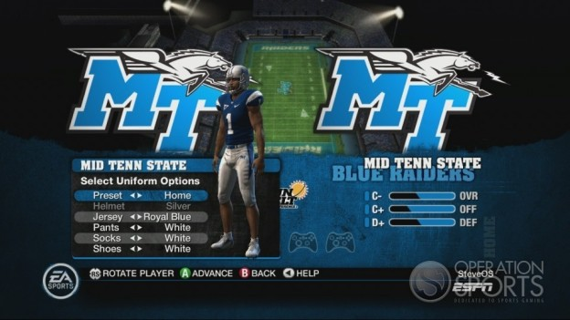 NCAA Football 10 Screenshot #305 for Xbox 360