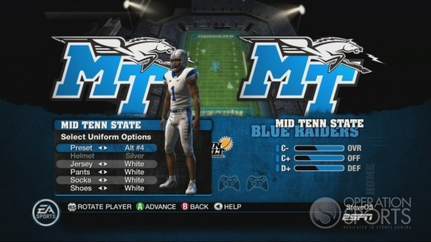 NCAA Football 10 Screenshot #306 for Xbox 360