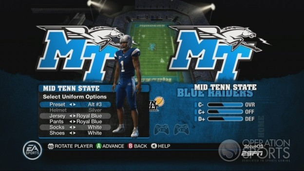 NCAA Football 10 Screenshot #307 for Xbox 360