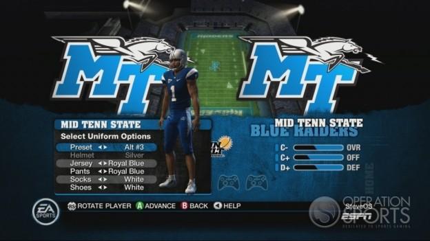 NCAA Football 10 Screenshot #307 for Xbox 360