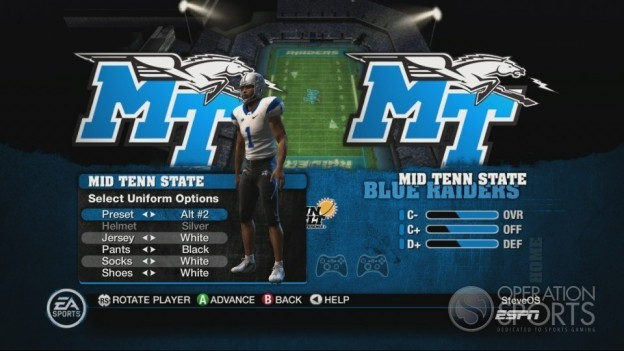 NCAA Football 10 Screenshot #308 for Xbox 360
