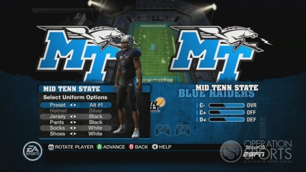 NCAA Football 10 Screenshot #309 for Xbox 360
