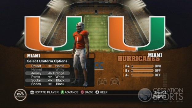 NCAA Football 10 Screenshot #317 for Xbox 360