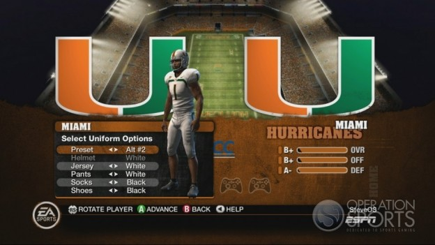 NCAA Football 10 Screenshot #319 for Xbox 360