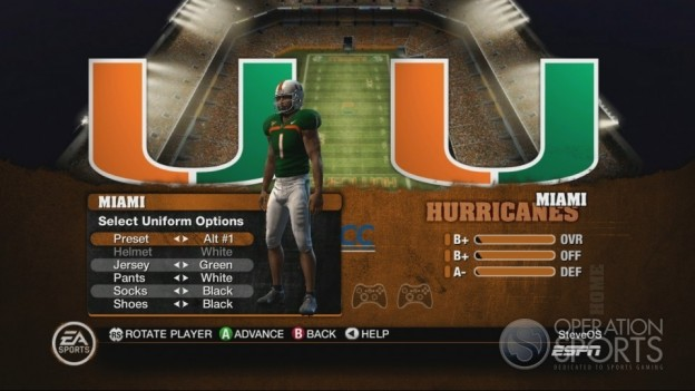 NCAA Football 10 Screenshot #320 for Xbox 360