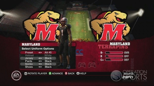 NCAA Football 10 Screenshot #325 for Xbox 360