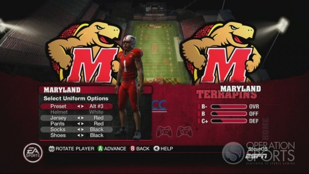 NCAA Football 10 Screenshot #327 for Xbox 360