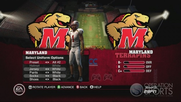 NCAA Football 10 Screenshot #329 for Xbox 360