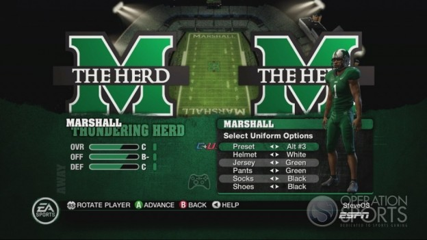 NCAA Football 10 Screenshot #331 for Xbox 360