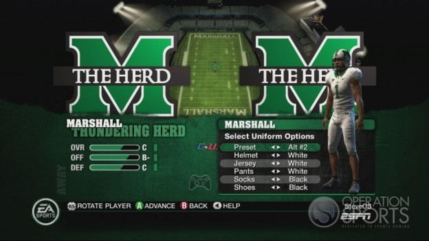 NCAA Football 10 Screenshot #332 for Xbox 360