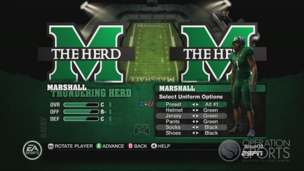 NCAA Football 10 Screenshot #333 for Xbox 360