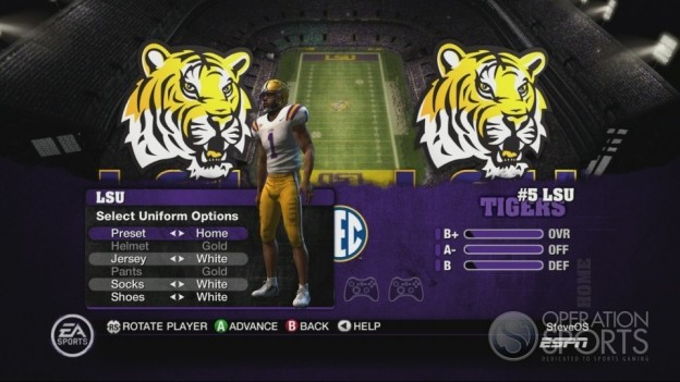 NCAA Football 10 Screenshot #336 for Xbox 360