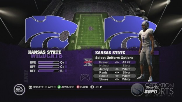 NCAA Football 10 Screenshot #354 for Xbox 360