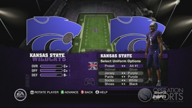 NCAA Football 10 Screenshot #355 for Xbox 360