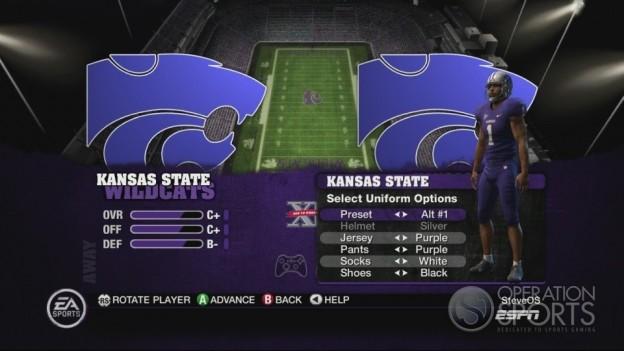 NCAA Football 10 Screenshot #355 for Xbox 360