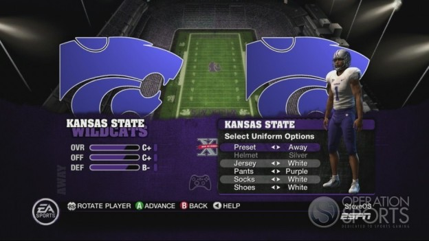 NCAA Football 10 Screenshot #356 for Xbox 360