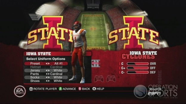 NCAA Football 10 Screenshot #363 for Xbox 360