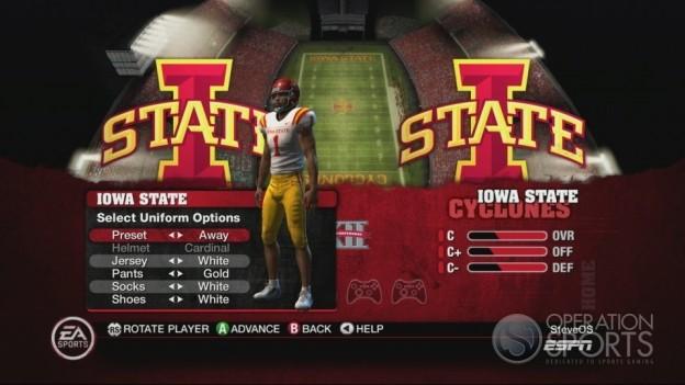 NCAA Football 10 Screenshot #364 for Xbox 360