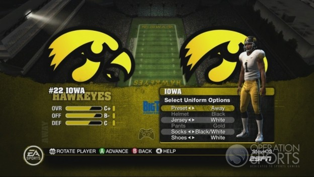 NCAA Football 10 Screenshot #365 for Xbox 360
