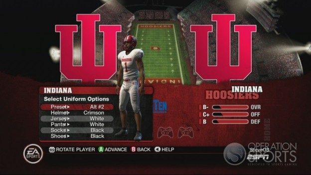 NCAA Football 10 Screenshot #368 for Xbox 360
