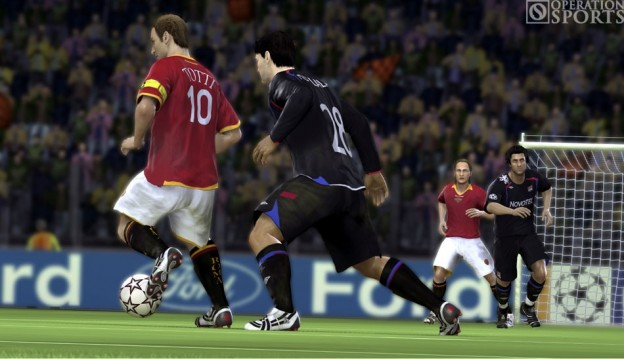 UEFA Champions League 2006-2007 Screenshot #1 for Xbox 360
