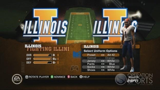 NCAA Football 10 Screenshot #372 for Xbox 360