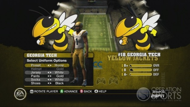 NCAA Football 10 Screenshot #390 for Xbox 360