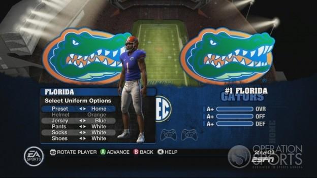 NCAA Football 10 Screenshot #410 for Xbox 360