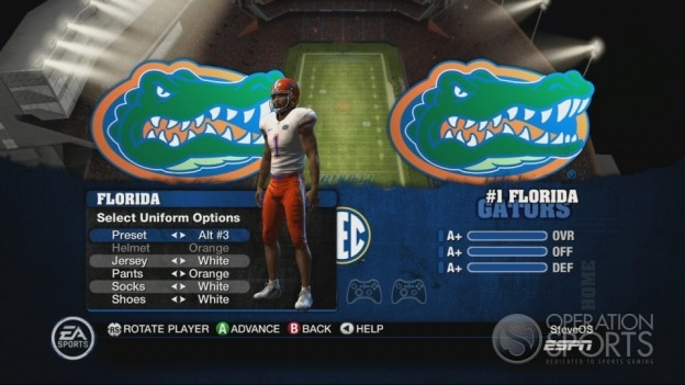 NCAA Football 10 Screenshot #411 for Xbox 360