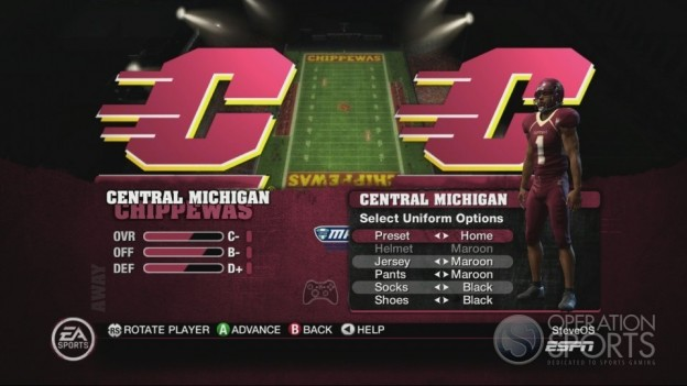 NCAA Football 10 Screenshot #452 for Xbox 360