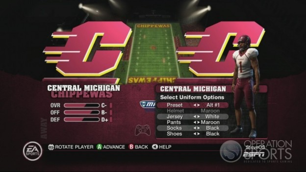NCAA Football 10 Screenshot #453 for Xbox 360