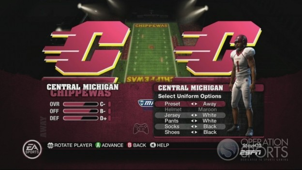 NCAA Football 10 Screenshot #454 for Xbox 360
