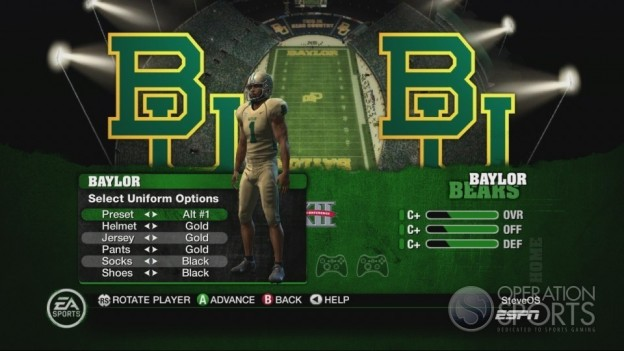 NCAA Football 10 Screenshot #482 for Xbox 360