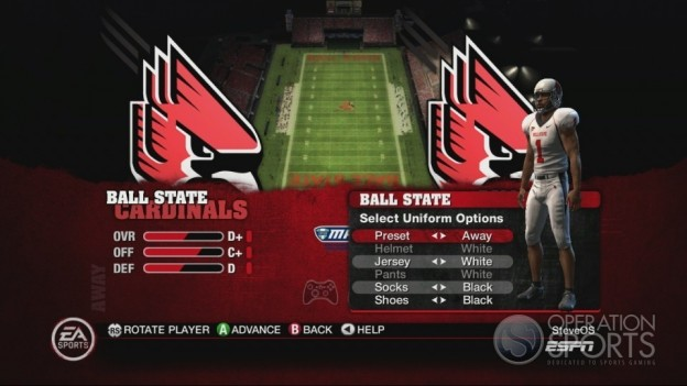 NCAA Football 10 Screenshot #484 for Xbox 360