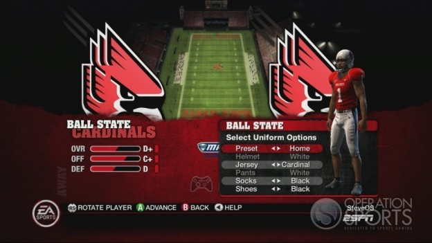 NCAA Football 10 Screenshot #485 for Xbox 360