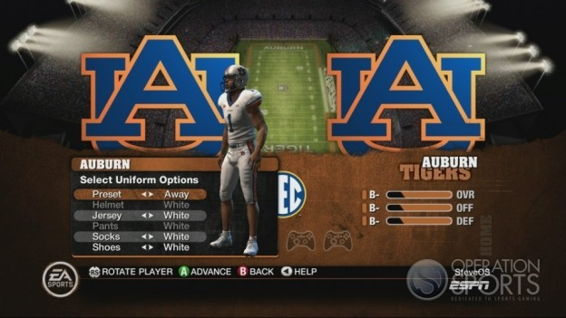 NCAA Football 10 Screenshot #487 for Xbox 360