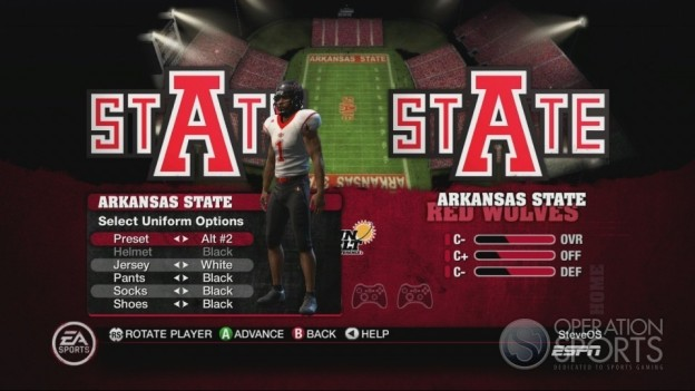 NCAA Football 10 Screenshot #492 for Xbox 360
