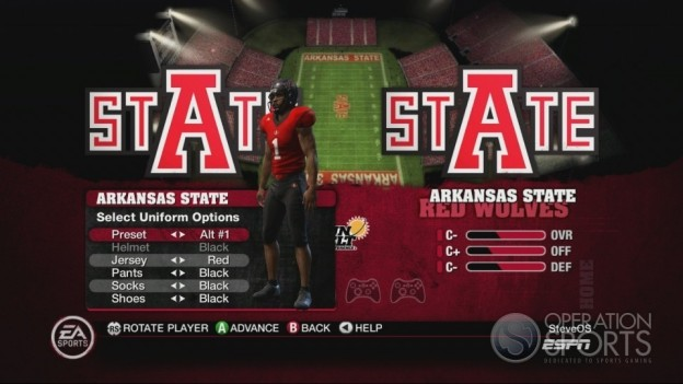 NCAA Football 10 Screenshot #493 for Xbox 360