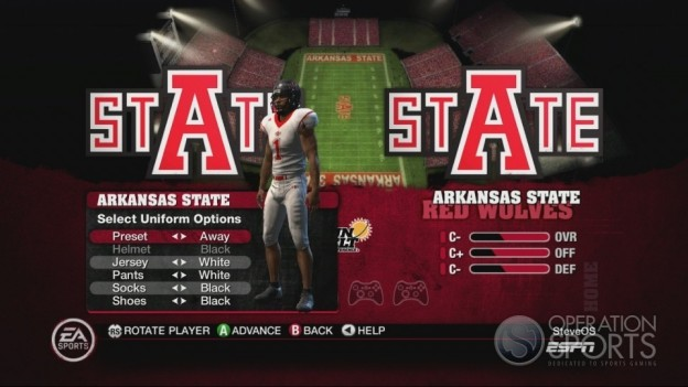 NCAA Football 10 Screenshot #494 for Xbox 360