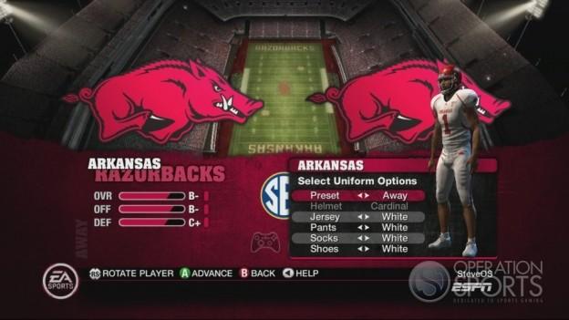 NCAA Football 10 Screenshot #496 for Xbox 360