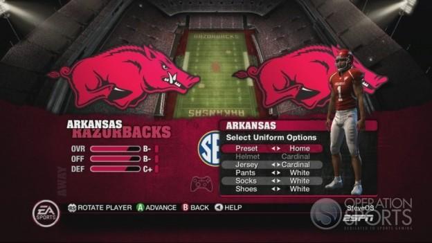 NCAA Football 10 Screenshot #497 for Xbox 360