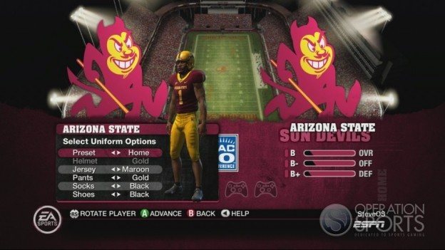 NCAA Football 10 Screenshot #498 for Xbox 360