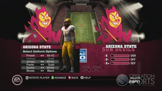 NCAA Football 10 Screenshot #499 for Xbox 360