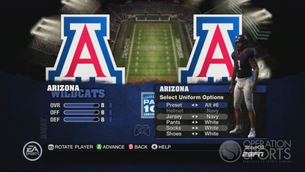 NCAA Football 10 Screenshot #502 for Xbox 360