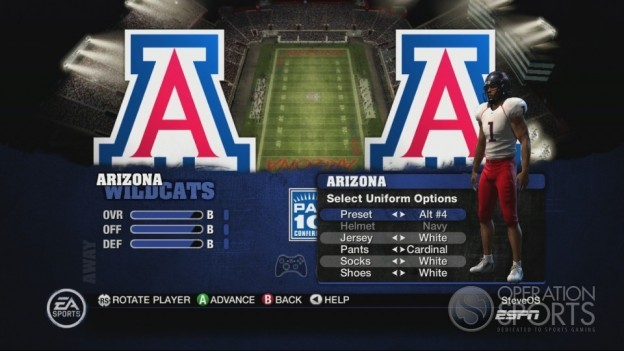 NCAA Football 10 Screenshot #504 for Xbox 360