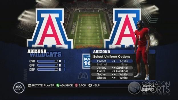 NCAA Football 10 Screenshot #505 for Xbox 360