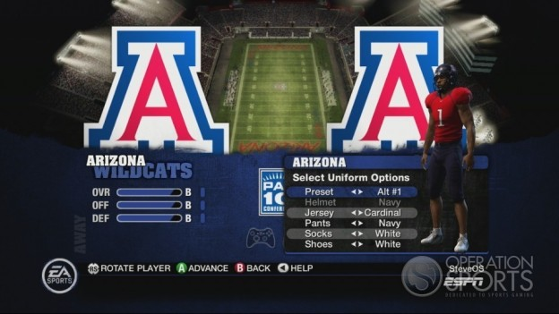 NCAA Football 10 Screenshot #507 for Xbox 360